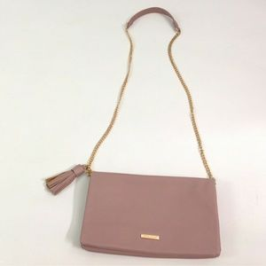 David Jones Womens Handbag Crossbody Chain Clutch